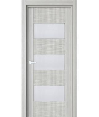 Дверь межкомнатная «84К 3Д остекленная»