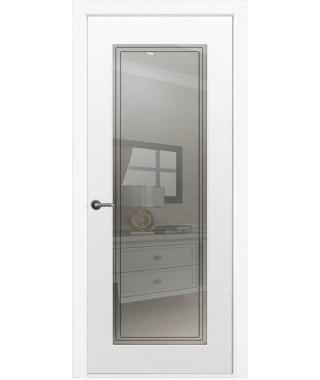 Дверь межкомнатная «Бельви остекленная»