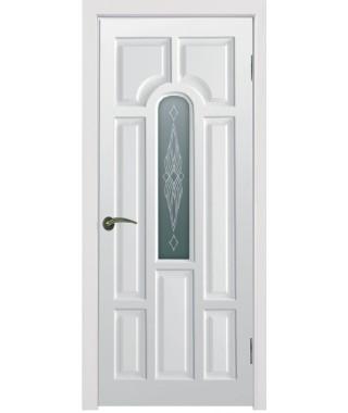 Дверь межкомнатная «Блюз остекленная»
