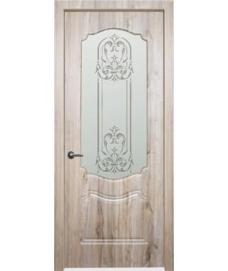 Дверь межкомнатная «Богема остекленная»