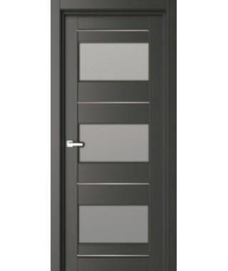 Дверь межкомнатная «42К остекленная»