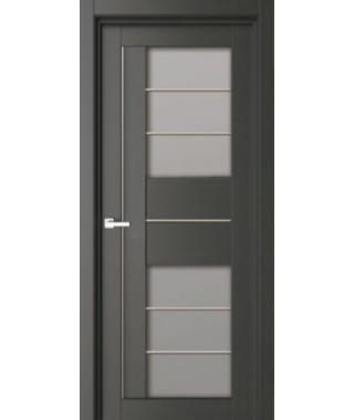 Дверь межкомнатная «43К остекленная»