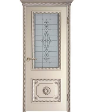 Дверь межкомнатная «Аполлон остекленная»