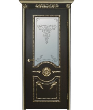 Дверь межкомнатная «Аврора остекленная»