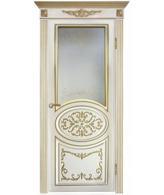 Дверь межкомнатная «Барокко остекленная»