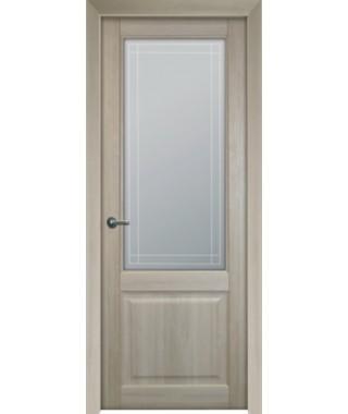 Дверь межкомнатная «Бергерия остекленная»
