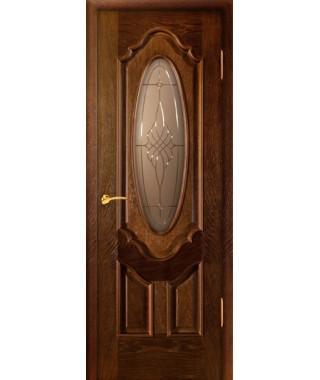 Дверь межкомнатная «Прима АП-6 остекленная»
