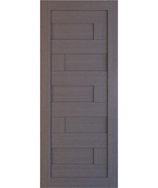 Дверь межкомнатная «Домино глухая серый дуб»