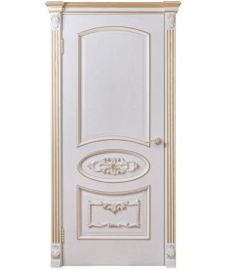 Дверь межкомнатная «Галактика с декором глухая»