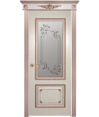 Дверь межкомнатная «Геба остекленная»