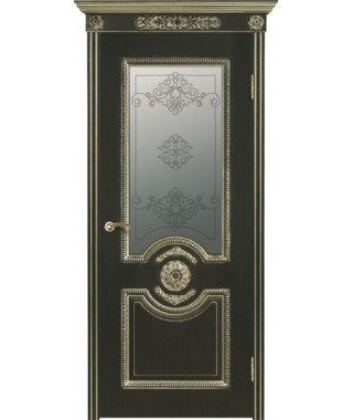 Дверь межкомнатная «Гефест остекленная»