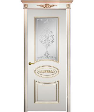 Дверь межкомнатная «Геката остекленная»
