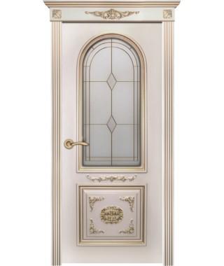 Дверь межкомнатная «Гера остекленная»