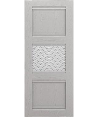 Дверь межкомнатная «Корсика  остекленная»