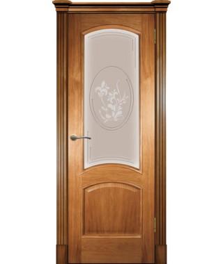 Дверь межкомнатная «Леон остекленная»