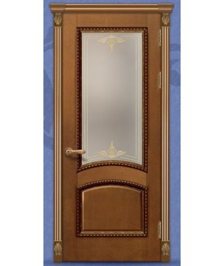 Дверь межкомнатная «Леон М5 остекленная»