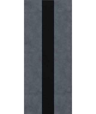 Дверь межкомнатная «П-9 остекленная бетон графит»