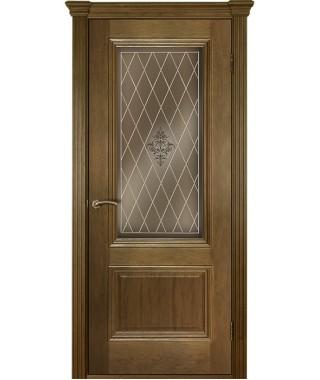 Дверь межкомнатная «Прага ШП остекленная»