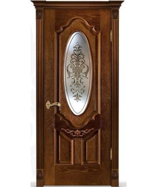 Дверь межкомнатная «Прима D2 остекленная»