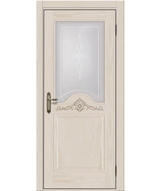 Дверь межкомнатная «Прованс 10 остекленная»