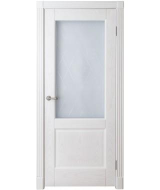 Дверь межкомнатная «Прованс 12 остекленная»