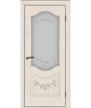 Дверь межкомнатная «Прованс 2 остекленная»
