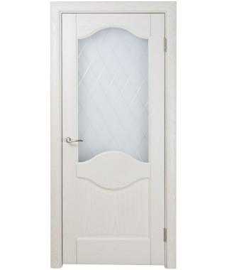 Дверь межкомнатная «Прованс 4 остекленная»