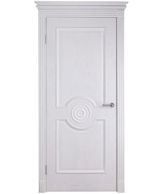 Дверь межкомнатная «Триумф белый ясень глухая»