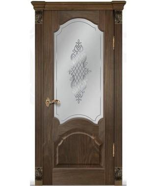 Дверь межкомнатная «Виктория остекленная»