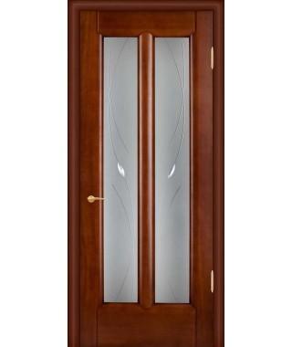 Дверь межкомнатная «Чикаго анегри остекленная»