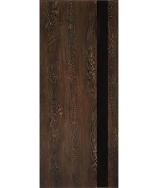 Дверь межкомнатная «П-3 остекленная шале мореный»