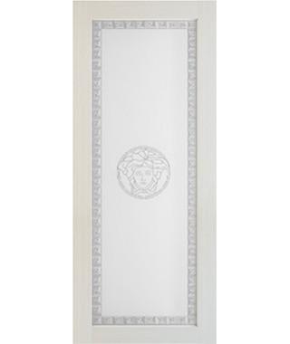Дверь межкомнатная «Премиум лиственница стекло сатинат»