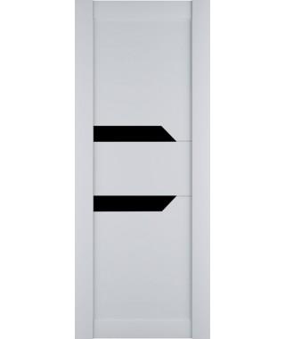 Дверь межкомнатная «Престиж-2 остекленная белый софт»