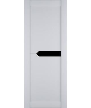 Дверь межкомнатная «Престиж-3 остекленная белый софт»