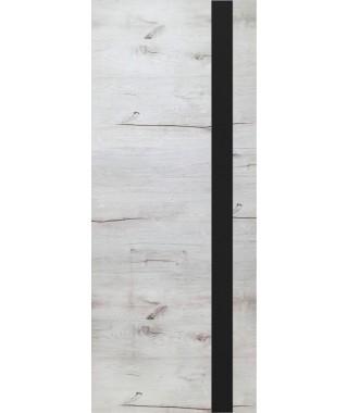 Дверь межкомнатная «Royal-2 остекленная дуб арктика»