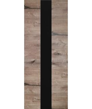 Дверь межкомнатная «Royal-3 остекленная дуб пацифика»