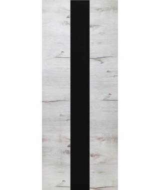 Дверь межкомнатная «Royal-3 остекленная дуб арктика»