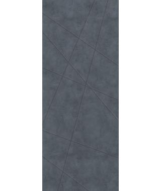 Дверь межкомнатная «Тоскана-1 глухая бетон графит»