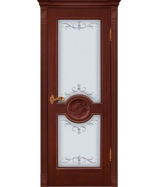 Дверь межкомнатная «Триумф Н анегри остекленная»