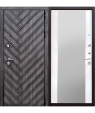 Дверь входная «Канада зеркало»