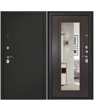 Дверь входная «Сити С с зеркалом»